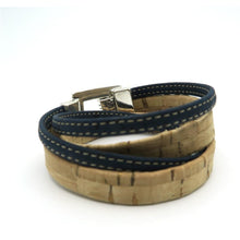 Load image into Gallery viewer, Natural Cork Unisex Cork Bracelet - Meraki Cole Company