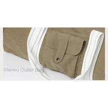 Load image into Gallery viewer, Natural Cotton Yoga Bag - Meraki Cole Company