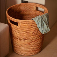 Load image into Gallery viewer, Handmade Rattan Laundry Storage Basket - Merak Cole Company