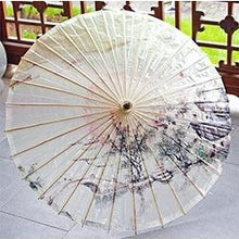 Load image into Gallery viewer, Chinese Style Oiled Paper Umbrella - Meraki Cole Company