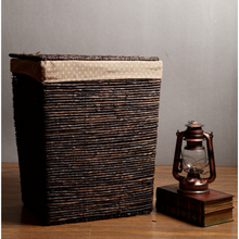 Load image into Gallery viewer, Bamboo Laundry Storage Basket - Meraki Cole Company