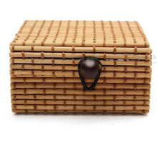 Load image into Gallery viewer, Natural Bamboo Jewelry Box - Meraki Cole Company