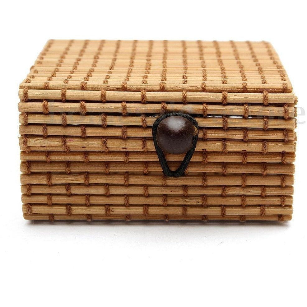Natural Bamboo Jewelry Box - Meraki Cole Company