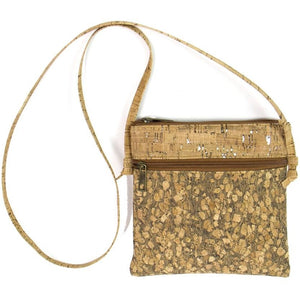 Handmade Cork Crossbody Bag - Meraki Cole Company