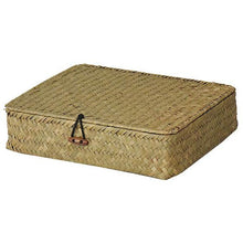 Load image into Gallery viewer, Woven Seagrass Storage Box - Meraki Cole Company