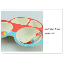 Load image into Gallery viewer, Bamboo Fiber Baby Dinnerware (3 Piece Set) - Meraki Cole Company