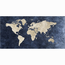 Load image into Gallery viewer, World Map Bamboo Bath or Beach Towel - Meraki Cole Company