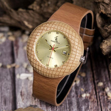 Load image into Gallery viewer, Stylish Wooden Watch with Roman Numerals - Meraki Cole Company