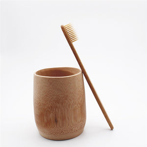 Natural Bamboo Toothbrush - Meraki Cole Company