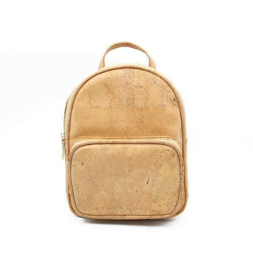 Girls Small Cork Backpack - Meraki Cole Company