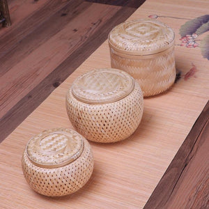 Bamboo Home Decor Storage Boxes - Meraki Cole Company