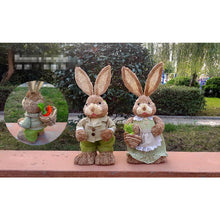 Load image into Gallery viewer, Natural Weave Straw Garden Rabbit - Meraki Cole Company
