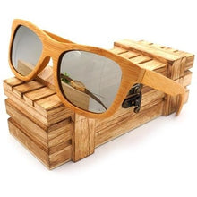 Load image into Gallery viewer, Vintage Bamboo Wooden Sunglasses - Meraki Cole Company