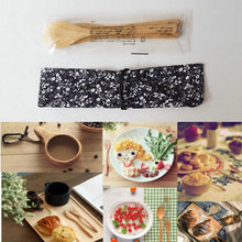 Load image into Gallery viewer, Reusable Bamboo Wooden Dinnerware (3 Piece Set) - Meraki Cole Company