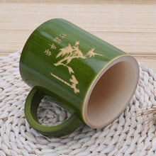 Load image into Gallery viewer, Natural Bamboo Mug With Handle - Meraki Cole Company