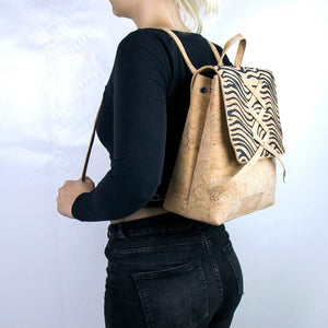 Natural Cork Fashion Backpack - Meraki Cole Company