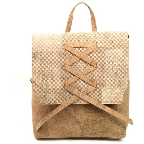 Double Handle Cork Backpack - Meraki Cole Company