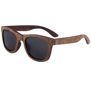 Cork Wood Polarized Sunglasses - Meraki Cole Company