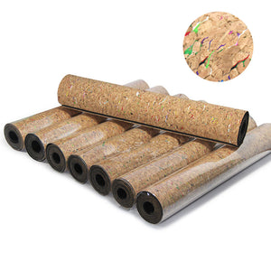 Colorful Cork Yoga Pilates Exercise Mat