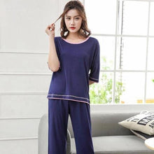 Load image into Gallery viewer, Women Casual Bamboo Pajamas (2 Piece Set) - Meraki Cole Company