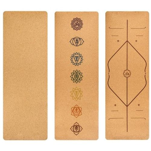 Pilates Cork Exercise Mat - Meraki Cole Company