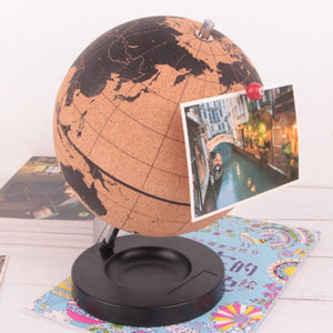 Cork World Globe - Meraki Cole Company