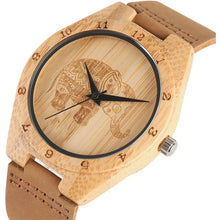 Load image into Gallery viewer, Bohemian Natural Bamboo Watch - Meraki Cole Company