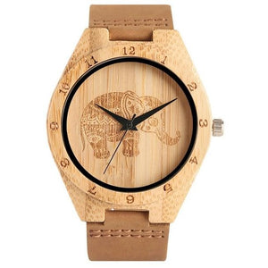 Bohemian Natural Bamboo Watch - Meraki Cole Company