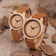 Load image into Gallery viewer, Bamboo Wooden Watch & Sunglasses Set (2 Piece) - Meraki Cole Company