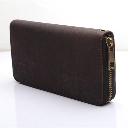 Brown Cork Clutch Wallet - Meraki Cole Company