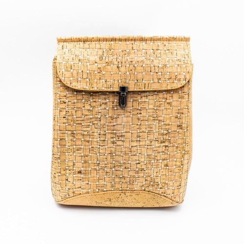 Adjustable Cork Double Strap Backpack - Meraki Cole Company