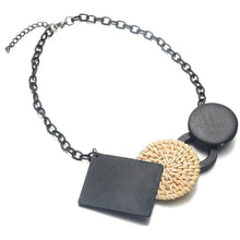 Load image into Gallery viewer, Handmade Natural Beaded Cork Necklace - Meraki Cole Company