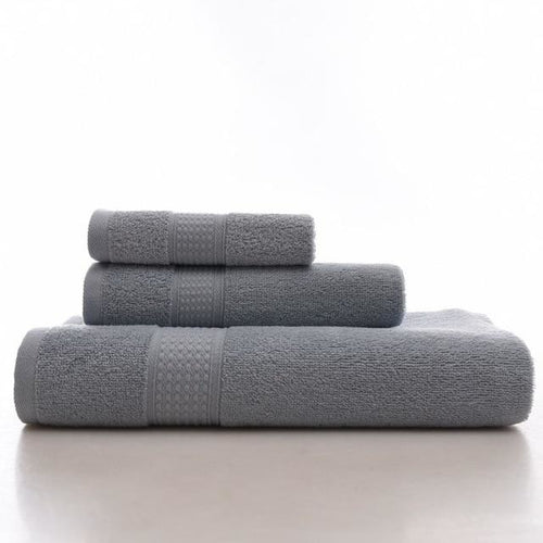 100% Organic Cotton Bath Towels (3 Piece Set) - Meraki Cole Company