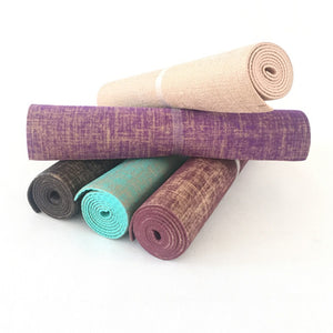 Natural Jute Yoga Pilates Exercise Mat - Meraki Cole Company
