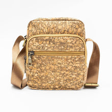 Load image into Gallery viewer, Natural Tree Cork Travel Bag - Meraki Cole Company