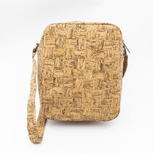 Load image into Gallery viewer, Cork Messenger Travel Bag - Meraki Cole Company