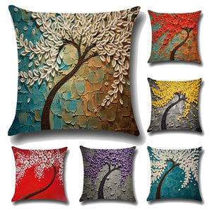 3D Painting Throw Pillowcase - Meraki Cole Company