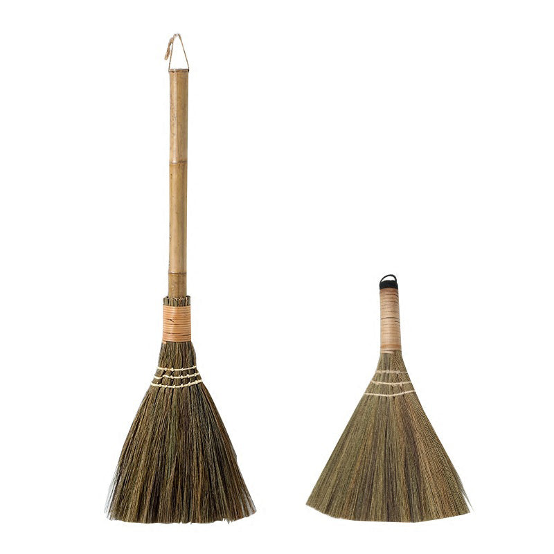 Straw Sweeping Duster Broom - Meraki Cole Company