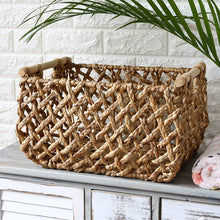 Load image into Gallery viewer, Straw Hollow Storage Basket - Meraki Cole Company
