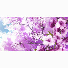 Load image into Gallery viewer, Cherry Blossom Bamboo Bath or Beach Towel - Meraki Cole Company