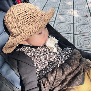 Children's Handmade Folding Beach Sun Protection Hat - Meraki Cole Company