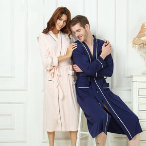 Lounge Wear Bamboo Robe - Meraki Cole Company