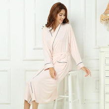 Load image into Gallery viewer, Lounge Wear Bamboo Robe - Meraki Cole Company