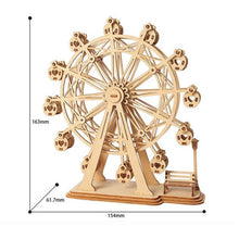 Load image into Gallery viewer, DIY 3D Modern Wooden Assembly Model Puzzle Toy - Meraki Cole Company