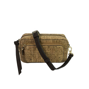 Luxury Vegan Neutral Pattern Cork Waist Pack - Meraki Cole Company