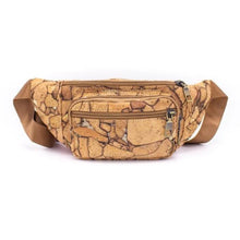 Load image into Gallery viewer, Rustic Stone Cork Fanny Pack - Meraki Cole Company