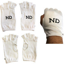 Load image into Gallery viewer, ND Fingerless Cotton Inner Gloves Various Sizes Cricket Inner Gloves Ladies Mens