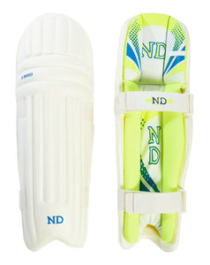 ND Cricket Batting Leg Guards Tendulkar Style Batsman Pads Boys Youths Mens 2019