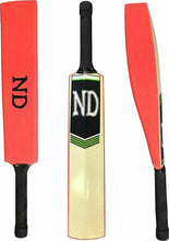 Load image into Gallery viewer, ND Cloud Catcher Light Coaching Cricket Bat & Grade A Ball