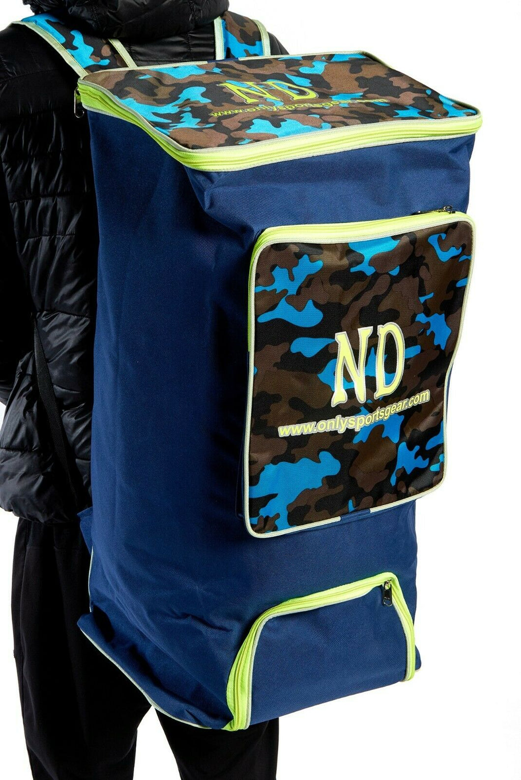 ND Plus Camouflage Powerbow Large Duffle Kit Cricket Bag 70 x 30 x 35 cm